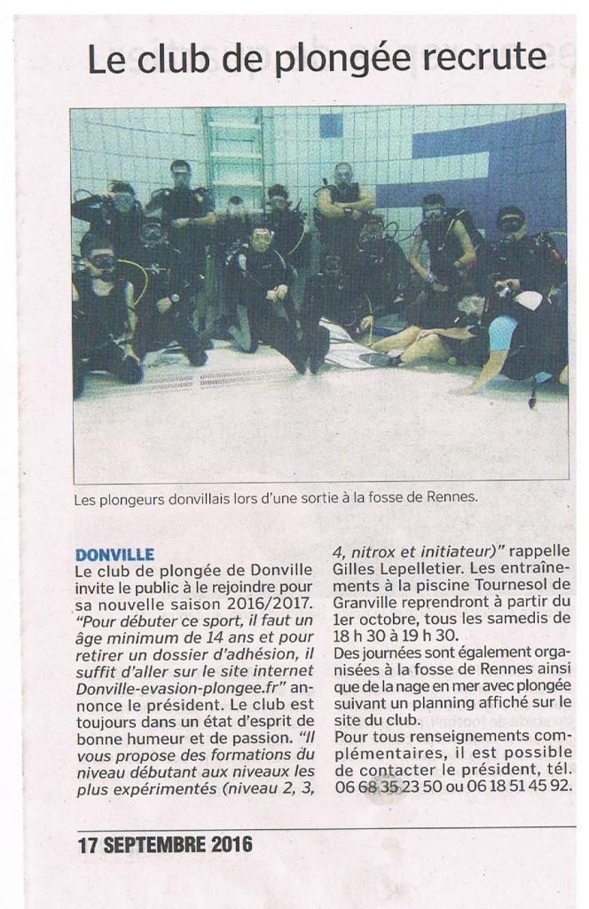 Presse septembre 2016