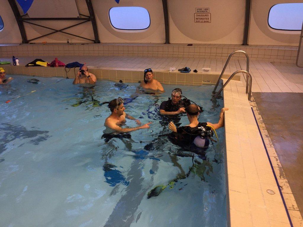 Baptême, formation N1 et Initiateur